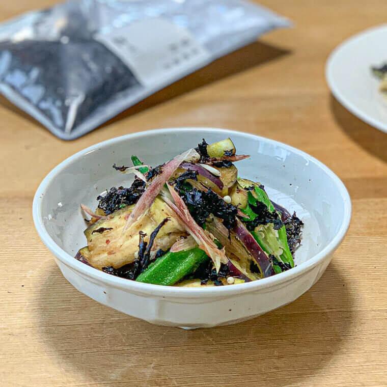 紫彩の香味サラダ