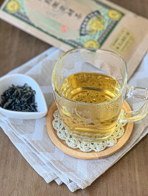 焙煎微発酵茶
